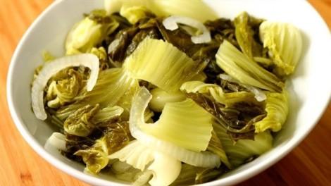 5 loại dưa muối đơn giản chống ngán khi ăn tết