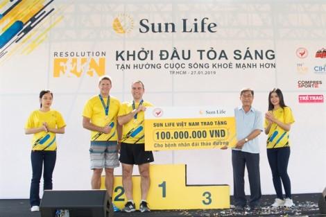 Hơn 3000 người tham gia đường chạy khởi đầu một năm mới tỏa sáng Sun Life Việt Nam - Resolution Run 2019
