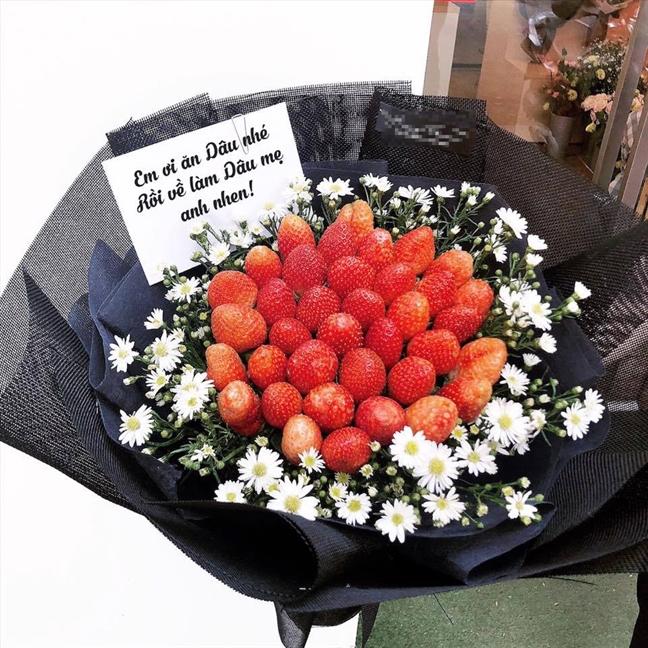 Qua hoa goi tien that 'chay hang' mua Valentine