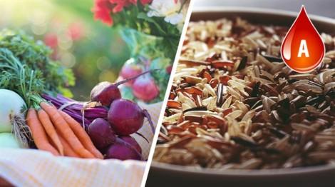 Chế độ ăn uống khỏe mạnh dành cho từng nhóm máu