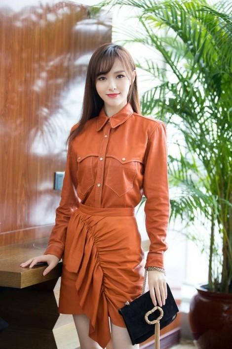 Gu thời trang đa sắc màu của sao châu Á Đường Yên