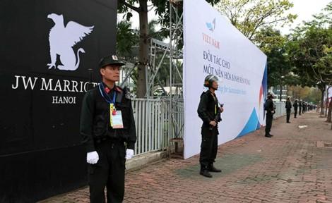 Thắt chặt an ninh ở khách sạn để chuẩn bị Hội nghị thượng đỉnh Mỹ -Triều