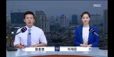 'Choáng' với cách đài truyền hình Hàn Quốc làm tin hội nghị thượng đỉnh Mỹ - Triều