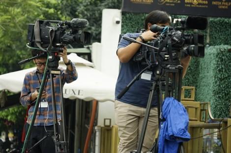 Phóng viên quốc tế trèo tường chạy đua đưa tin tại Hội nghị thượng đỉnh Mỹ - Triều