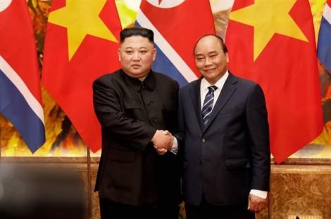 Nhà lãnh đạo Triều Tiên Kim Jong-un viếng lăng Chủ tịch Hồ Chí Minh