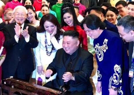 Những hình ảnh thân thiện của Chủ tịch Triều Tiên Kim Jong-un tại Việt Nam