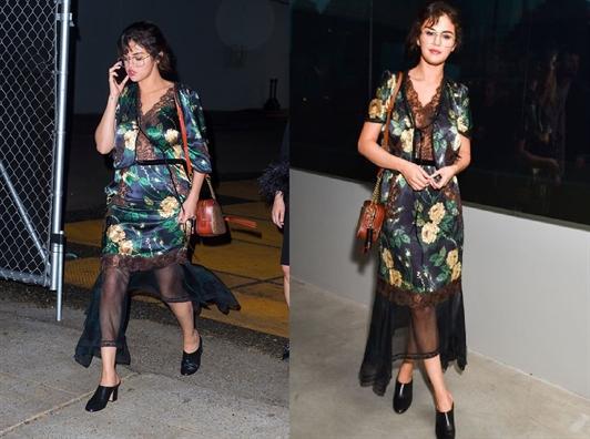 Hoc cach Selena Gomez phoi do cung phụ kiẹn 'khó nhàn'