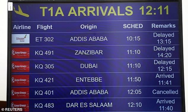 May bay cho 157 nguoi roi o Ethiopia, khong ai song sot