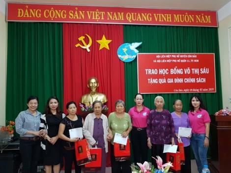 Quận 11: Thăm, tặng quà mẹ VNAH và con em gia đình chính sách huyện Côn Đảo