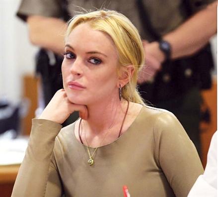 Lindsay Lohan va bi mat tu trang suc 'Mat ac'