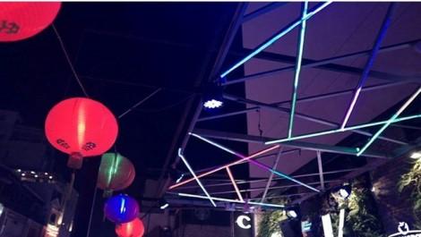 Nghi lễ múa cho những ánh đèn neon thu thập ở Sài Gòn