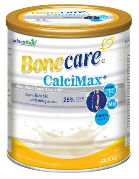 Wincofood ra mắt sản phẩm Bonecare calci Max+ phòng ngừa loãng xương