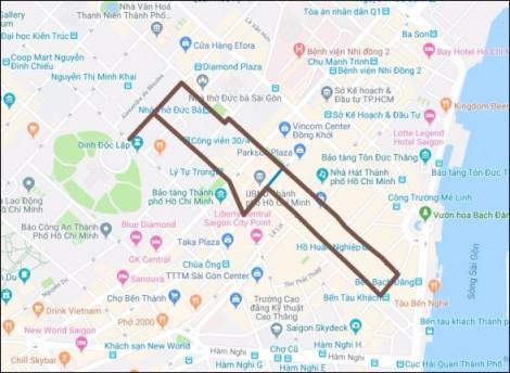 TP.HCM: Cấm xe vào trung tâm thành phố để tổ chức ngày chạy Olympic 2019