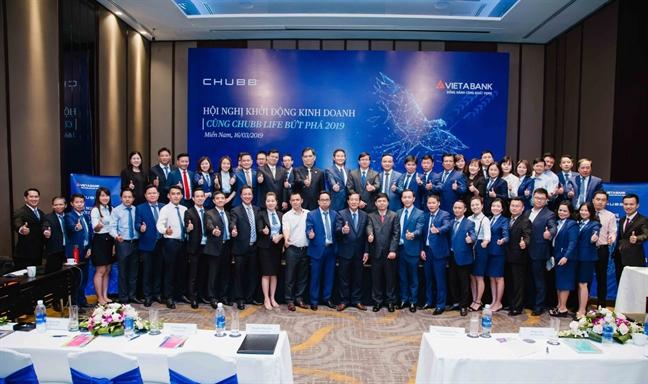 Chubb Life Viet Nam va VietABank to chuc Hoi nghi kinh doanh nam 2019