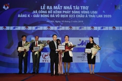 Sun World góp phần mang các trận đấu vòng loại U23 châu Á Thái Lan 2020 đến khán giả truyền hình