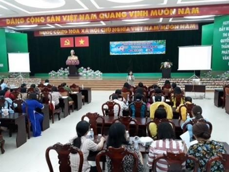 Phụ nữ huyện Bình Chánh chia sẻ yêu thương