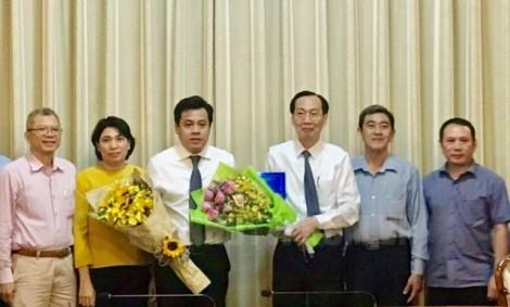 Ông Trần Anh Tuấn giữ chức Phó Giám đốc Sở Kế hoạch và Đầu tư TP.HCM