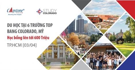 Gặp gỡ 6 trường 'TOP' bang Colorado và giành học bổng 600 triệu đồng
