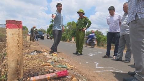Vụ người phụ nữ chết bất thường bên đường: Đối tượng gây ra vụ việc là chồng nạn nhân