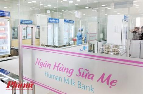 Ngân hàng sữa mẹ đầu tiên tại TP.HCM chính thức đi vào hoạt động