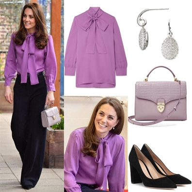 Cong nuong Kate Middleton doi phong cach thoi trang chuan bi vai tro hoang hau