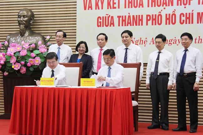 TP.HCM va Nghe An day manh hop tac giai doan 2019 - 2025