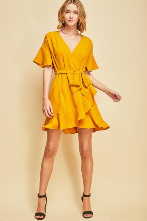 Wrap dress - chiếc váy mùa hè xinh tươi cho mọi cô nàng