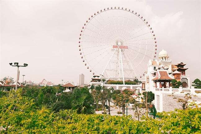Dan sao Viet hoi tu dai nhac hoi 'Mr.Dam-Vu khuc thang 4' tai Sun World Danang Wonders