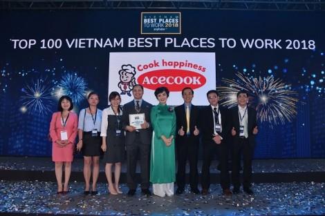 Acecook Việt Nam xếp vị trí 25 trong khảo sát 'Nơi làm việc tốt nhất Việt Nam 2018'
