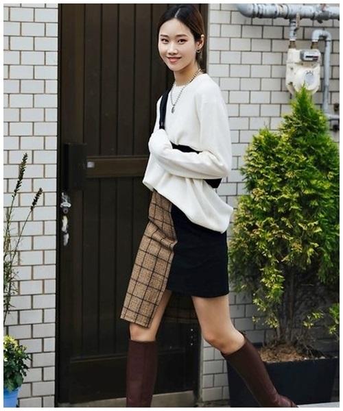 Mini skirt - mon do 'gay bao' mua nang nong
