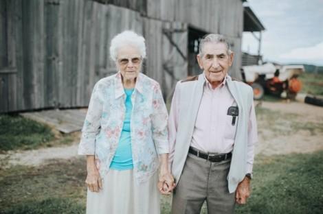 68 năm hôn nhân chưa bao giờ xa nhau dù chỉ một ngày, một đêm