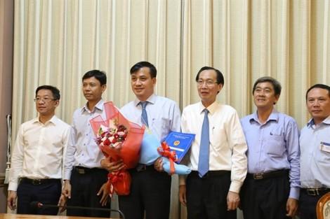 Chủ tịch UBND quận 7 Lê Hòa Bình làm Giám đốc Sở Xây dựng TP.HCM