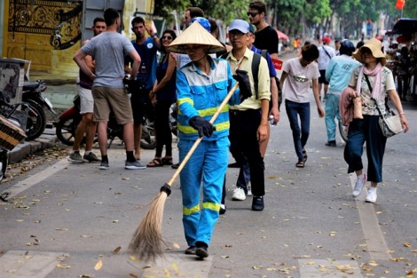 Có những người không biết đến nghỉ lễ ở Hà Nội