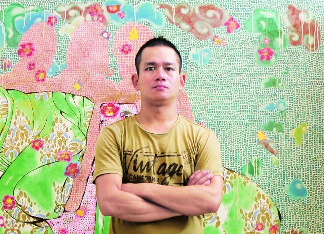 Hoa si  Nguyen The Hung - Giac mo hoa khong hu ao