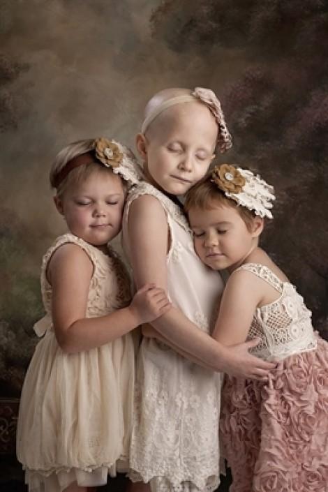 4 bệnh nhân nhí và ý chí vượt qua ung thư trong bộ ảnh đầy nghị lực