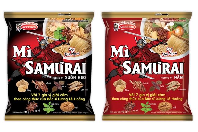 Mi Samurai buoc dot pha moi cua Acecook Viet Nam