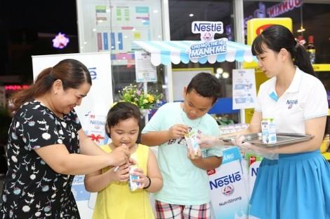 Nestlé ra mắt sản phẩm sữa nước ít đường
