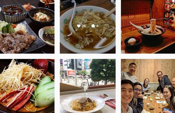 Nhung 'thien duong' cua Instagram va selfie tren the gioi