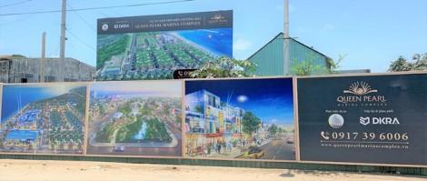 Chi cục thi hành án thị xã Lagi đề nghị không mua bán, cầm cố dự án Queen Pearl Marina Complex