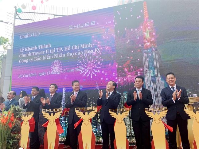 Chubb Life Viet Nam khanh thanh Chubb Tower II moi tai TP.HCM