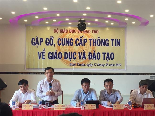 Bo GD-DT: Chi hau kiem 20 co so giao duc ve dieu kien dam bao chat luong