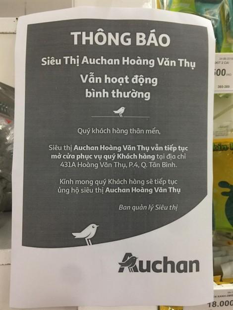 Auchan không giảm giá đồng loạt, người mua 'tưởng bở'!