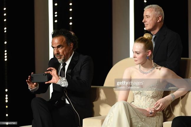 Cannes 2019 ngay be mac: Chuong Tu Di va Elle Fanning 'dung hang'