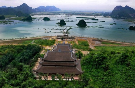 Nhập nhèm quản lý đất tại các chùa 'khủng' mang tên dự án du lịch tâm linh