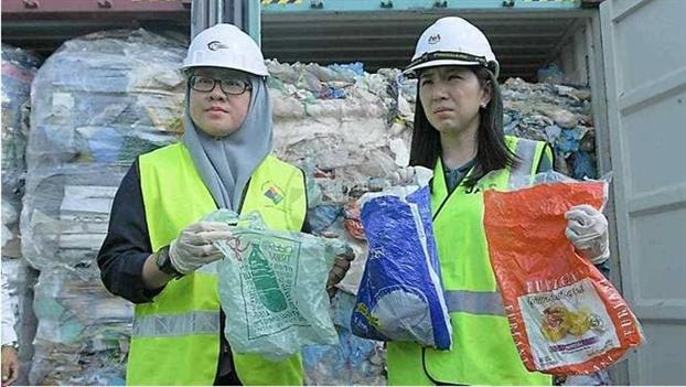 Malaysia tuyen bo gui tra 3.000 tan rac thai nhua ve noi xuat xu