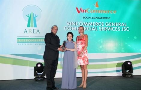 VinCommerce nhận giải thưởng 'Doanh nghiệp trách nhiệm châu Á'