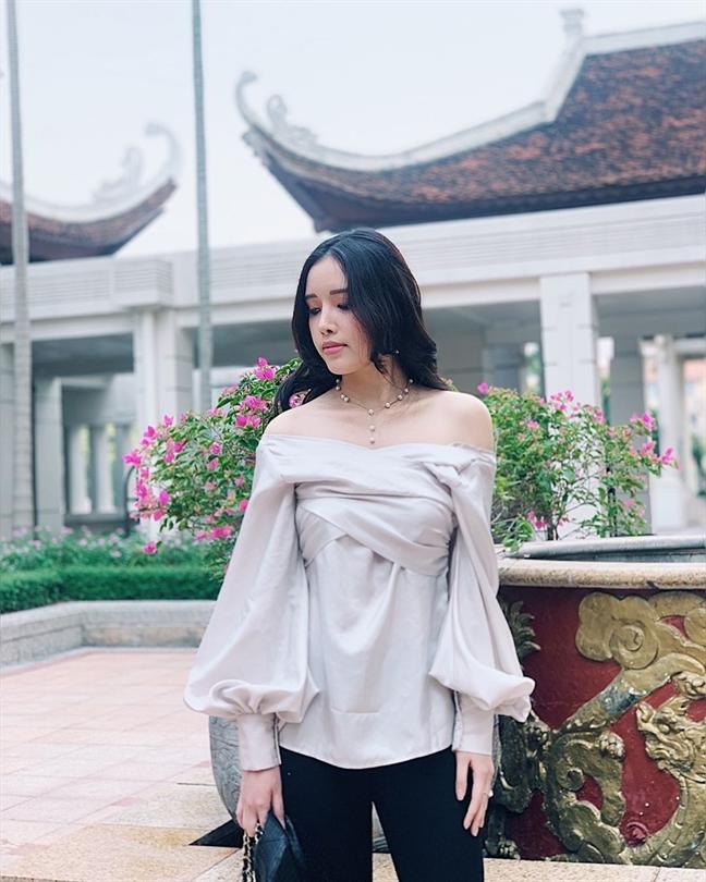 Gu thoi trang cuc chat khien fan me man cua em gai Mai Phuong Thuy