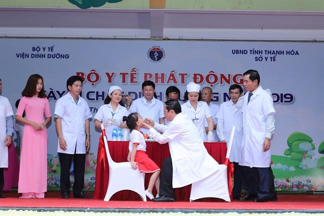Vi chat dinh duong giup tang truong, nang cao tam voc, suc khoe, tri tue va chat luong cuoc song