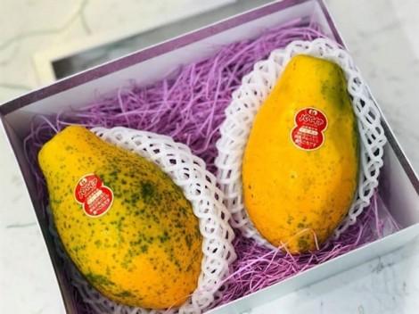 Trái cây Nhật lại làm 'điên đảo' túi tiền khách Việt