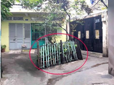 Đem nghị định mới cưỡng chế hàng rào gỗ cũ